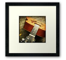 """""""Music is the art of thinking with sounds.""""  Framed Print"""