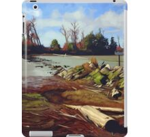 Shady Island - Steveston BC iPad Case/Skin