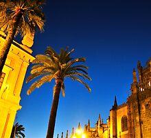 Sevilla in blue by David Roberts