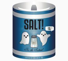 Kawaii Ghost Salt by Munchflower