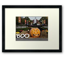 BOO AT THE ZOO Framed Print