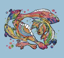 Rainbow fish by goanna