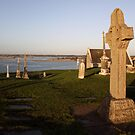 Clonmacnoise cemetery by John Quinn