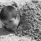 human sand castle by carlawool