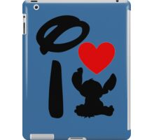 I Heart Stitch iPad Case/Skin