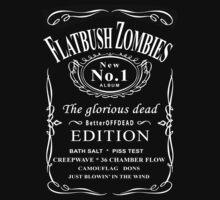 FLATBUSH ZOMBIES BOTTLE of JACK by herlin