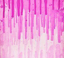 Pink Grunge Color Splatter Graffiti Backstreet Wall Background  by badbugs