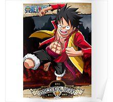 Monkey D Luffy Poster