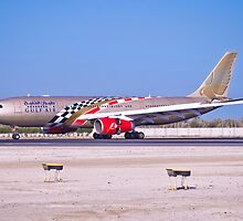 Gulf Air with Spical Paint F1 by Bucheeri
