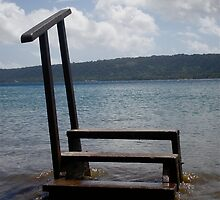 Stairs Over Water by LiseFrog
