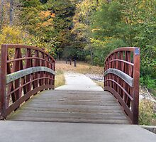 Kickapoo State Park - Number Six Lake Bridge #1 by Jeff VanDyke