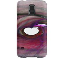 Flaming Heart-Available As Art Prints-Mugs,Cases,Duvets,T Shirts,Stickers,etc Samsung Galaxy Case/Skin