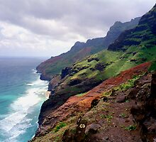 Kalalau Trail Return Leg by kevin smith  skystudiohawaii