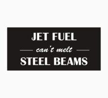 JET FUEL can't melt STEEL BEAMS (white) by jiveturkeysean