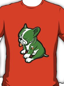 Irish Boston Bull Terrier Puppy  T-Shirt