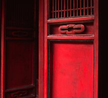 The red door by Jenny Hall