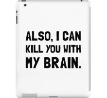 Kill With My Brain iPad Case/Skin