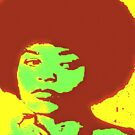 ANGELA DAVIS-POP ART by OTIS PORRITT