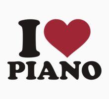 I love Piano Kids Clothes