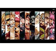 One Piece Straw Hat Gang Photographic Print
