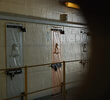 View From a Prison Cell - Maitland Gaol NSW by Bev Woodman