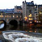 Pulteney Bridge Bath by Jude Glenn