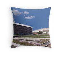 Fremantle Prison Throw Pillow