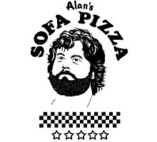 Superstar is Alan's Sofa Pizza new Photographic Print