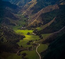 Over Central North Island near Wanganui by Mark Hill
