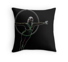 In The Ring Throw Pillow