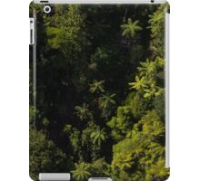 Tree Ferns from the air New Zealand iPad Case/Skin