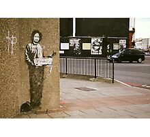 Banksy @ Archway Photographic Print