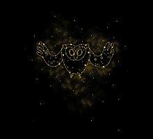 Cosmic Owl by Corinna Djaferis