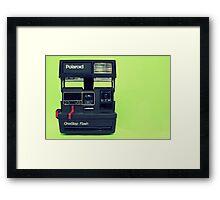 Photographers Fossil Framed Print
