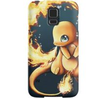 charmander's fire  Samsung Galaxy Case/Skin