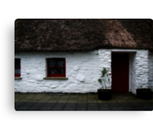 Thatched cottage 2 Canvas Print