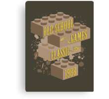 Old School Games - Classic Canvas Print