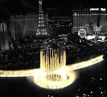 Vegas Fountain by Lauren Rosa