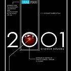 Original 2001 A Space Odyssey Poster by myronmhouse