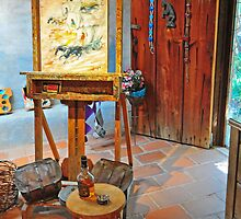 DeGrazia, Gallery In The Sun by rmanruss
