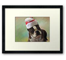 Amby christmas Framed Print