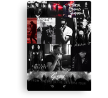 G-Eazy - From The Bay To The Universe Tour Canvas Print