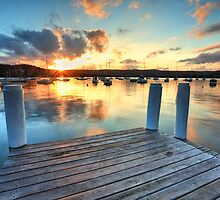 Sunset Point Frederick Wharf Gosford by Leah-Anne Thompson