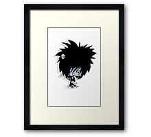 Goth Girl ROX Star Framed Print