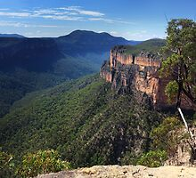 Grose Valley, Blue Mountains Australia by Leah-Anne Thompson