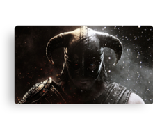 The Elder Scrolls V - Skyrim warrior Canvas Print