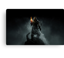 The Elder Scrolls V - Skyrim assassin Canvas Print