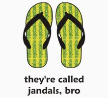 Jandals Bro by nnifty