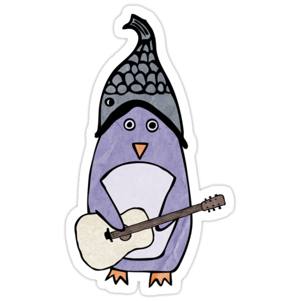 Something Great: Purple Penguin (Girls) by wonderful