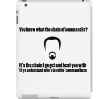 The Chain of Command iPad Case/Skin